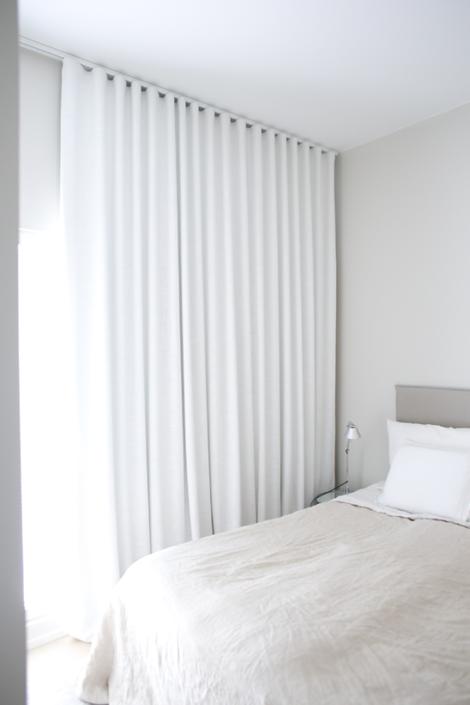 Klassinen tyyli jatkuu makuuhuoneiden pimennysverhoissa